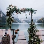 Floral Rustic Wedding Arch by Anneris